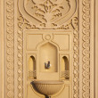 Faucet for ablution in mosque — 图库照片