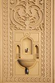 Faucet for ablution in mosque — Stock Photo