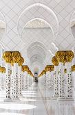 Sheikh Zayed Mosque, Abu Dhabi, UAE — Stock Photo