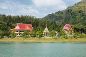 Buddhist temple on the island of Phuket in Thailand — Stockfoto