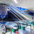 Stock Photo: Interior metro station in Dubai UAE