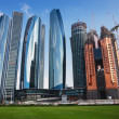 Skyscrapers in Abu Dhabi, United Arab Emirates — 图库照片