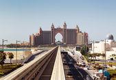 View Atlantis Hotel in Dubai, UAE — Stock Photo