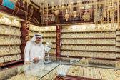 Gold market in Dubai, UAE — Stock fotografie