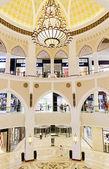 All'interno di delduomo moderno mall a dubai — Foto Stock