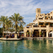 View of Madinat Jumeirah hotel — Stock Photo