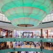 Inside modern luxuty mall in Dubai — 图库照片