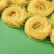 tagliatelle pasta — Stock Photo