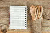 Wooden spoon — Stockfoto