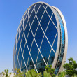 The Aldar headquarters building — Foto de Stock
