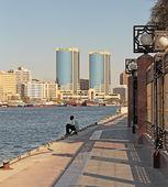 Port Saeed in Dubai — Stock Photo