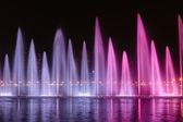 Musical fountain in Sharjah — Stock Photo