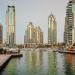 Stock Photo: Dubai Marina at sunset. United Arab Emirates