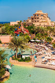 Aquaventure waterpark of Atlantis the Palm hotel — Stock Photo