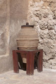 Old arabic ceramic pots — Stock Photo