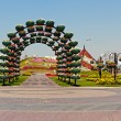 Dubai Miracle Garden — Stock Photo