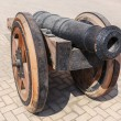 Old cast-iron cannon — Foto Stock #38407397