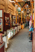 Street Market in Dubai Deira — Stock Photo