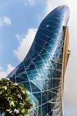 Capital Gate Tower in Abu Dhabi UAE — Stock Photo