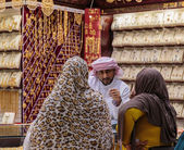 Gold market in Dubai, UAE — Stock Photo