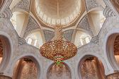 Element dekoracyjny w wielki meczet szejka zayeda — Zdjęcie stockowe