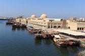 Sharjah - bağlantı noktası — Stok fotoğraf