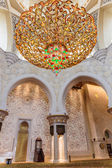 Decorative element in the Sheikh Zayed Grand Mosque — Stock Photo