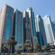 Stock Photo: Modern buildings in Sharjah
