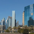 Stock Photo: Modern buildings in Dubai UAE