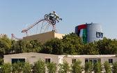 Entertainment complex Dubai Land. — Stock Photo