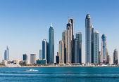Visão geral de marina dubai Emirados Árabes Unidos — Fotografia Stock