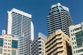 Modern buildings in Sharjah — Stock Photo