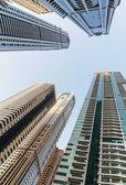 Modern buildings in Dubai UAE — Stock Photo