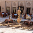 Stock Photo: Arabic patio