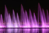 Musical fountain show in Sharjah — Foto Stock