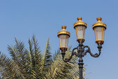 Metal streetlight — Stock Photo
