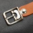 Stock Photo: Belt with buckle