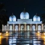 Sheikh Zayed Mosque, Abu Dhabi, UAE — Stock Photo #40335259