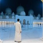 Sheikh Zayed Mosque, Abu Dhabi, UAE — Stock Photo #40335503
