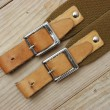 Stock Photo: Leather strap with buckle