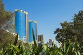 Deira Twin Towers in Dubai — Stock Photo
