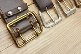 Belts with a buckles — Stock Photo