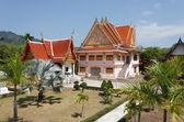 Black monk temple — Stok fotoğraf