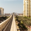 Stock Photo: Monorail at Palm Jumeirah