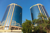 Deira Twin Towers in Dubai — Stock Photo