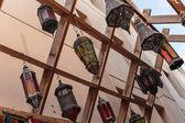 Arabic streetlight — Stock Photo