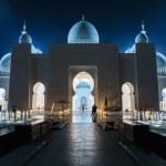 Sheikh Zayed Mosque, Abu Dhabi, UAE — Stock Photo #40658011
