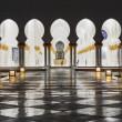 Sheikh Zayed Mosque, Abu Dhabi, UAE — Stock Photo #40658021