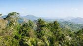Panoramisch uitzicht vanaf de heuvel grote boeddha in phuket thailand — Stockfoto