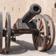 Old cast-iron cannon — Foto Stock #41004053